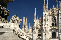 Milano, Cathedral view