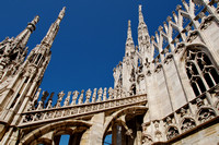Views from Milan Cathedral (Duomo di Milano)