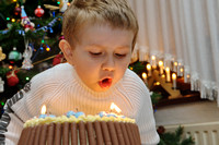 2012/01 - Birthday - Marek is 5 now